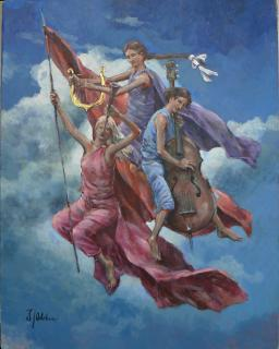 Jan Odehnal - alegorie jara