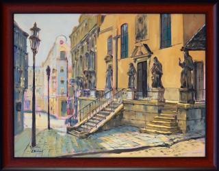 Jan Odehnal - Brno, Kapucínské náměstí