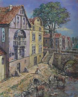 Jan Odehnal - Bydlení u řeky