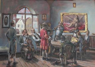 Jan Odehnal - Hudebn�ci