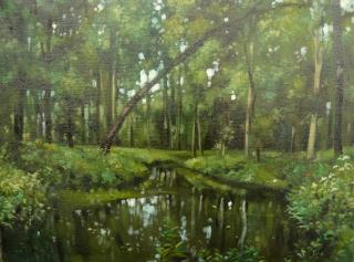 Jan Odehnal - Lužní les v červnu