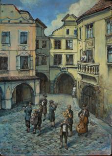 Jan Odehnal - Mezi domy