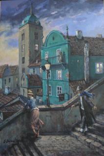 Jan Odehnal - Na schodech