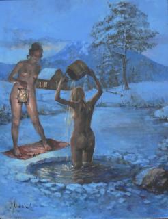 Jan Odehnal - Noční koupel