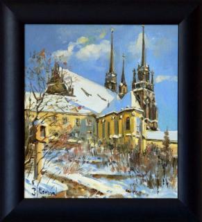 Jan Odehnal - Petrov pod sněhem