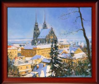 Jan Odehnal - Petrov v zimě