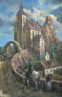 Jan Odehnal - Pod hradem
