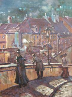 Jan Odehnal - Podzim v staré Preze