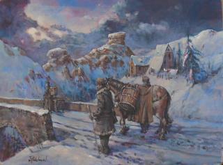 Jan Odehnal - Poutn�ci v hor�ch