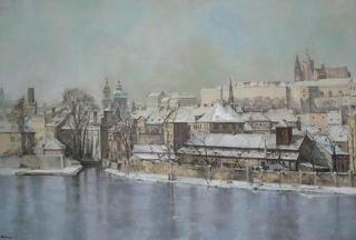 Jan Odehnal - Praha v zim�