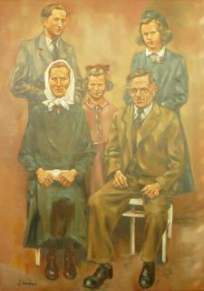Jan Odehnal - Rodina 1945