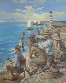 Jan Odehnal - Rybáři
