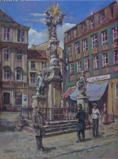Jan Odehnal - Sloup na Zel��ku v Brn�