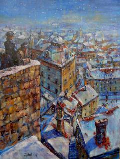 Jan Odehnal - Sněží
