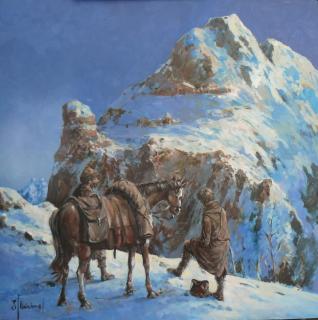 Jan Odehnal - V horách 2