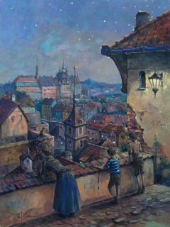 Jan Odehnal - Večer ve městě