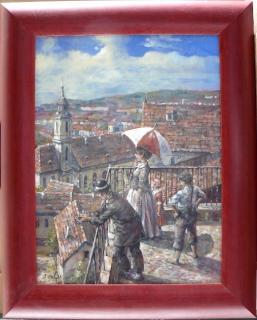 Jan Odehnal - Vyhlídka nad městem