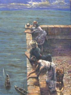 Jan Odehnal - Vyhlídka nad mořem